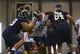 Jul 22, 2014; St. Louis, MO, USA; St. Louis Rams defensive tackle Aaron Donald (99) runs through drills at Rams Park. Mandatory Credit: Jeff Curry-USA TODAY Sports