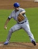 Jul 5, 2014; Cleveland, OH, USA; Kansas City Royals relief pitcher Casey Coleman (25) delivers in the eighth inning against the Cleveland Indians at Progressive Field. Mandatory Credit: David Richard-USA TODAY Sports