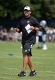 Jul 28, 2014; Napa, CA, USA; Oakland Raiders quarterbacks coach John DeFilippo at training camp at Napa Valley Marriott. Mandatory Credit: Kirby Lee-USA TODAY Sports