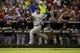 Jul 29, 2014; Arlington, TX, USA;  New York Yankees shortstop Derek Jeter (2) scores a run in the sixth inning against the Texas Rangers at Globe Life Park in Arlington. Mandatory Credit: Tim Heitman-USA TODAY Sports