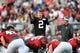 Aug 1, 2014; Lawrenceville, GA, USA; Atlanta Falcons quarterback Matt Ryan (2) calls a play during practice during Falcons Friday Night Lights at Archer High School. Mandatory Credit: Dale Zanine-USA TODAY Sports