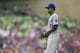 Aug 16, 2014; Minneapolis, MN, USA; Kansas City Royals starting pitcher Yordano Ventura (30) looks on before delivering a pitch in the fifth inning against the Minnesota Twins at Target Field. Mandatory Credit: Jesse Johnson-USA TODAY Sports