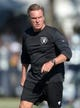 Aug 12, 2014; Oxnard, CA, USA; Oakland Raiders senior offensive assistant coach Al Saunders at scrimmage against the Dallas Cowboys at River Ridge Fields. Mandatory Credit: Kirby Lee-USA TODAY Sports