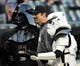 Aug 29, 2014; Chicago, IL, USA; Chicago White Sox designated hitter Paul Konerko (14) poses for a photo with Star Wars characters on Star Wars Night before the game against the Detroit Tigers at U.S Cellular Field. Mandatory Credit: David Banks-USA TODAY Sports