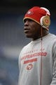 Jan 19, 2014; Seattle, WA, USA; San Francisco 49ers running back Frank Gore (21) wears Beats headphones during warm ups before the 2013 NFC Championship football game against the Seattle Seahawks at CenturyLink Field. The Seahawks defeated the 49ers 23-17. Mandatory Credit: Kyle Terada-USA TODAY Sports
